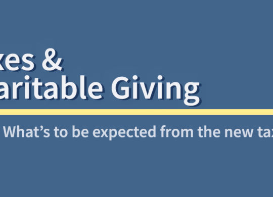 Taxes and Charitable Giving